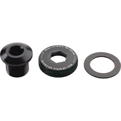 SRAM TruVativ GXP M15 Crank Bolt & M26 Cap Black