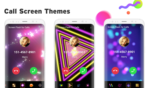 Color Phone - Call Screen Flash, Themes for PC