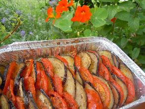 Photo: tian de légumes