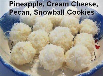 No Bake Cream Cheese Coconut Snowball S