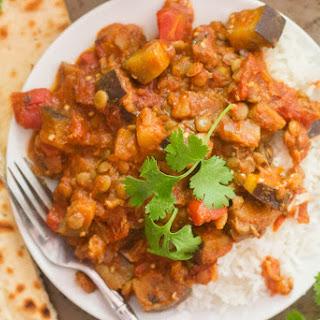 Eggplant Curry.