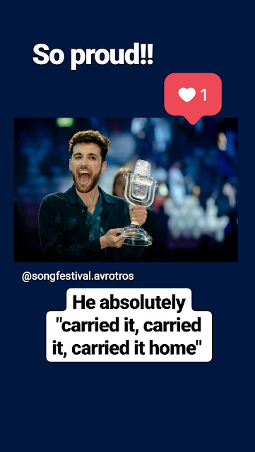 duncan laurence eurovisie songfestival 2019