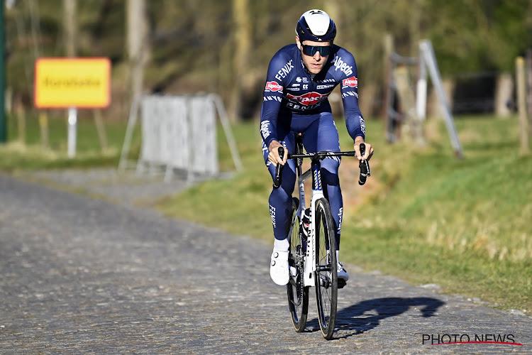 """Zwitser van Alpecin-Fenix houdt litteken over aan Ronde van Vlaanderen: """"Wat vind je van mijn recente facelift?"""""""