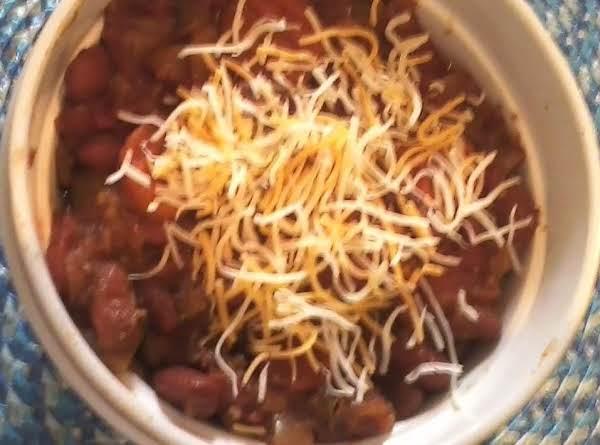 Crockpot Veggie Chili