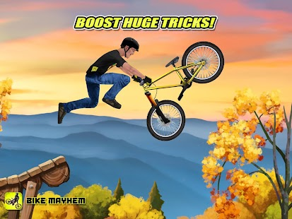 Bike Mayhem Mountain Racing- screenshot thumbnail