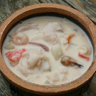 New England Seafood Chowder.