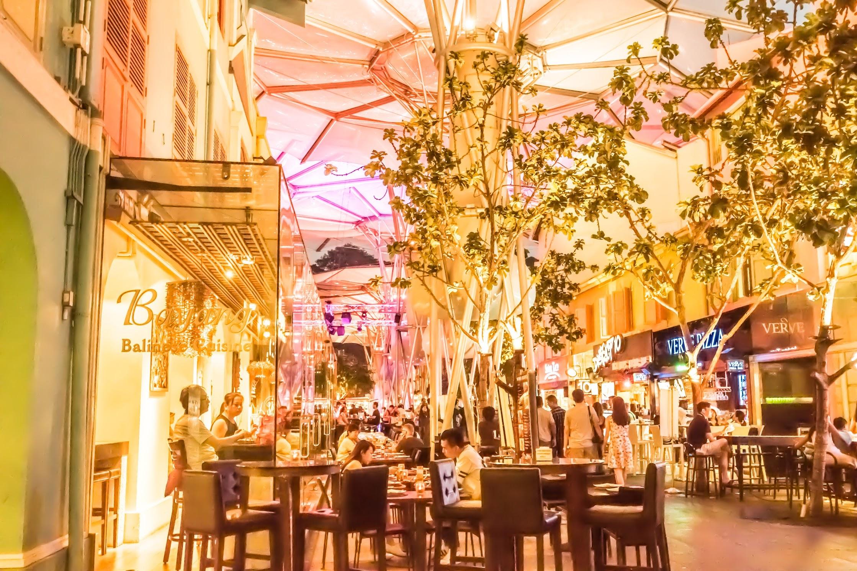 シンガポール クラーク・キー レストラン2