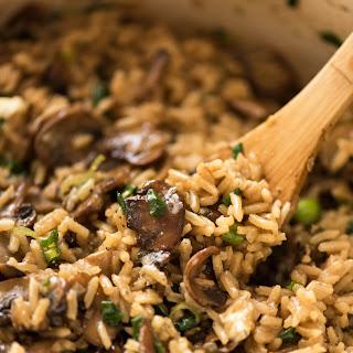 Mushroom Rice.