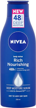 Nivea Rich Nourishing Body Moisturiser - 250ml
