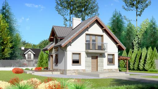 projekt Dom przy Cyprysowej 35