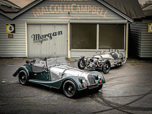 The classic Morgan and its quirky three-wheeler