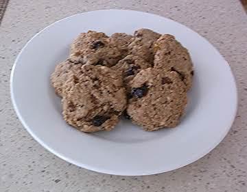 Fruit and Fiber Breakfast Cookies