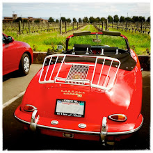 Photo: For #FourWheeledFriday , curated by +Akhil Kalsh.  Seen last month at a winery in Sonoma ... not a bad looking car! ;)