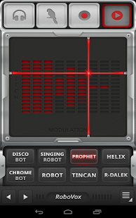 RoboVox Voice Changer Screenshot