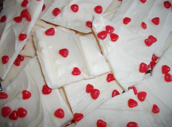 Valentine's Day Candy Bark Recipe