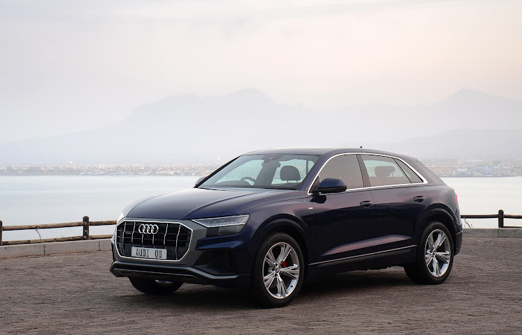 First Drive 2019 Audi Q8 Wears A Bold New Face