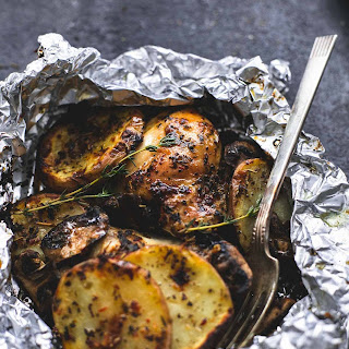 Grilled Herbed Chicken & Potato Foil Packs