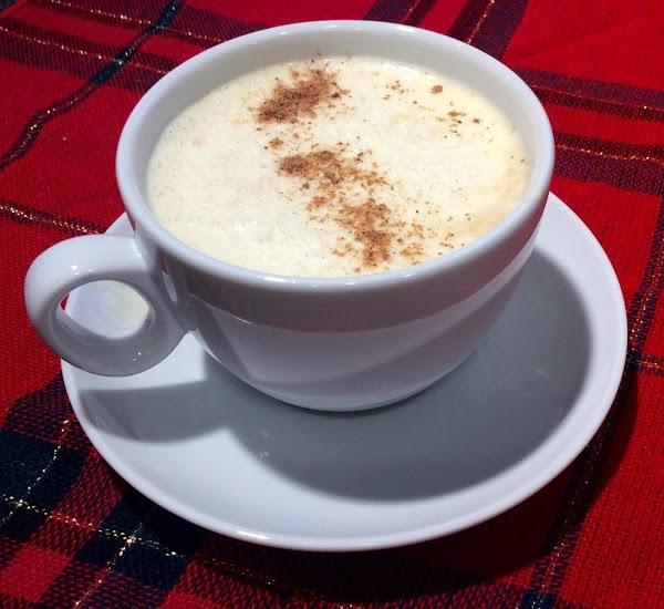Holiday Eggnog Latte Recipe