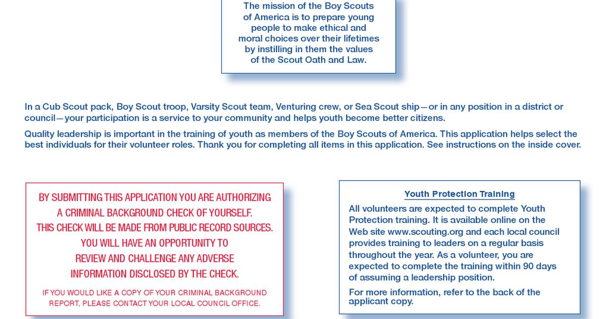 Fillable BSA Adult Leader App.pdf - Google Drive