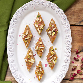 Baklava Cake (Almond Cake).