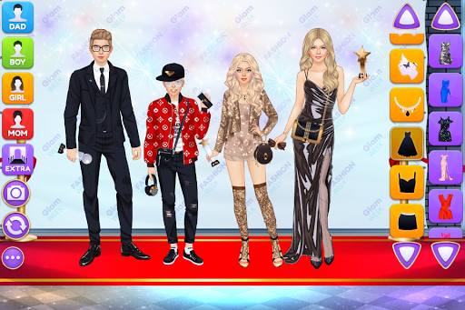 Superstar Family - Celebrity Fashion screenshots 1
