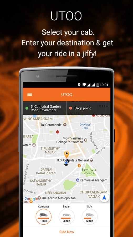 UTOO CABS- screenshot