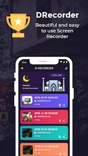 DRecorder – HD Screen Video Recorder App Latest Version Download For Android 1