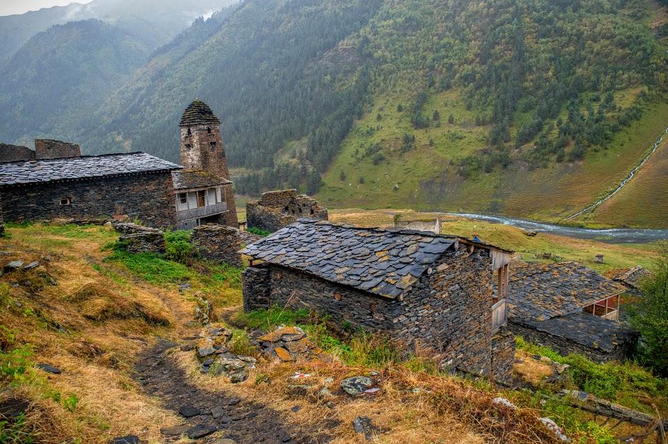 Kalnų žygis gruzijoje