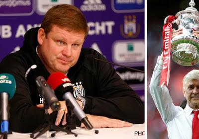 """Vanhaezebrouck rend hommage à Wenger: """"Ça doit être un exemple pour la Belgique"""""""