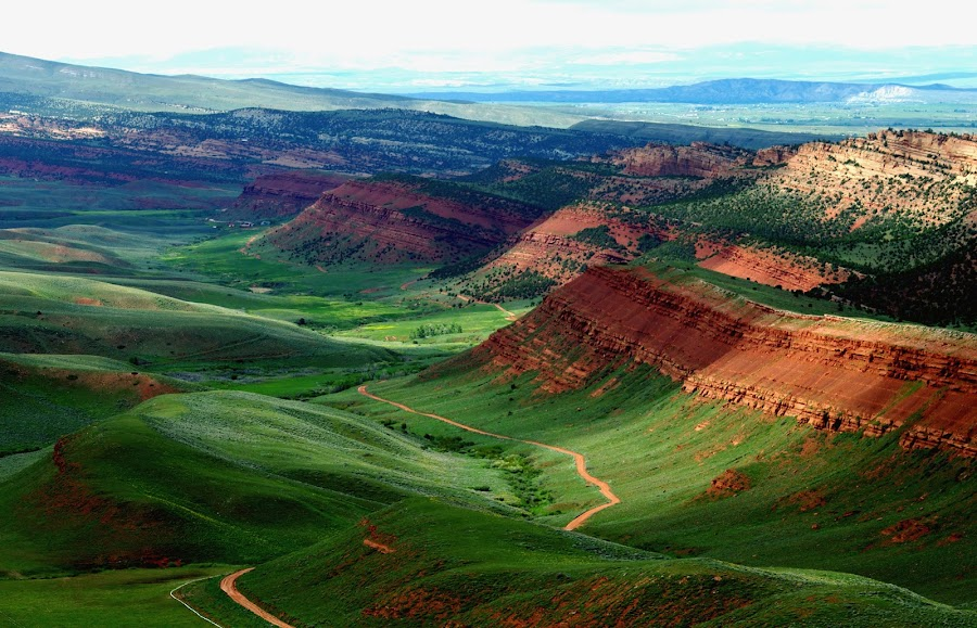 Red Canyon, Wyoming by Jenny Gandert - Landscapes Mountains & Hills ( red canyon, wyoming, canyon, published )