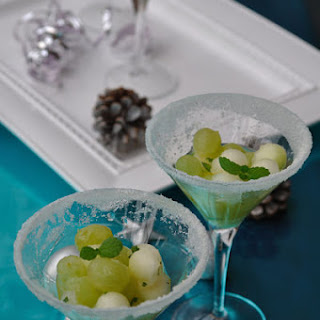 Grape and Melon with Mint Recipe