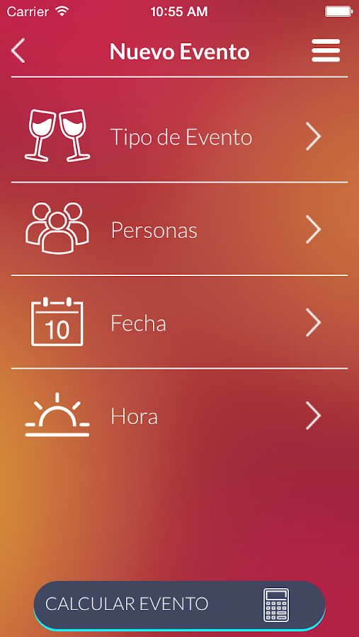 Mis Eventos- screenshot