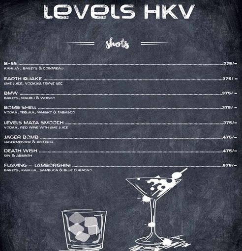 Menu 3 - Levels HKV, Hauz Khas Village, New Delhi