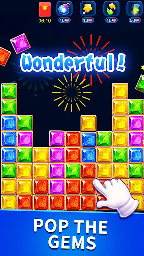 Télécharger Gratuit Star pop blast—Magic Gems Match Puzzle APK MOD (Astuce) screenshots 2