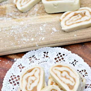 Old Fashioned Peanut Butter Pinwheels Recipe