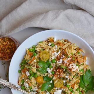English Pea and Orzo Salad