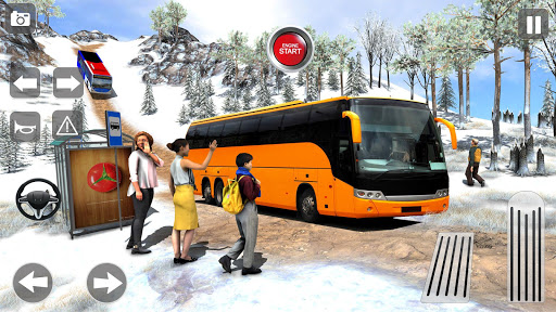 Offroad Coach Tourist Bus Simulator 2020 apktram screenshots 7