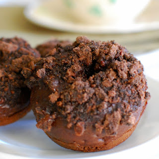 Thin Mint Chocolate Donuts