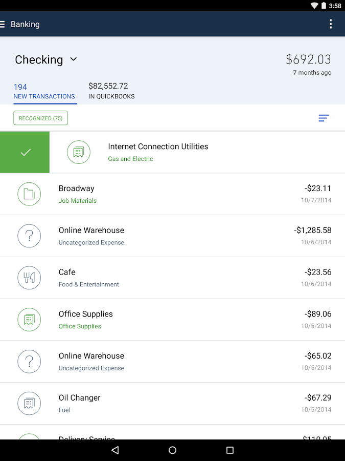 QuickBooks Accounting: Invoicing & Expenses- screenshot