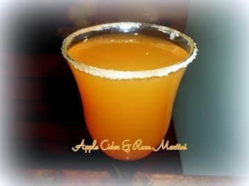Apple Cider & Rum Martini