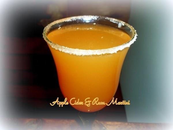 Apple Cider & Rum Martini Recipe
