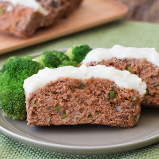 Mashie-Topped BBQ Meatloaf