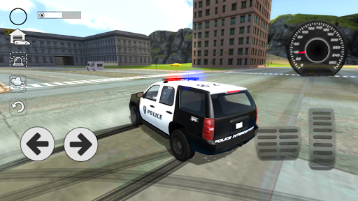 Police Car Drift Simulator  captures d'u00e9cran 1