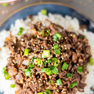 15-Minute Healthy Asian Beef Bowl.