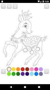 Christmas Coloring Book Aplikasi Di Google Play