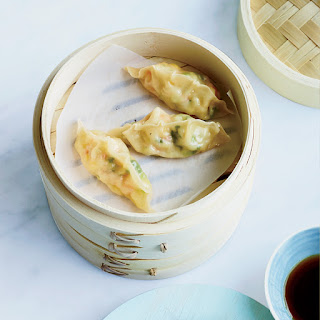 Corn-Shrimp Dumplings