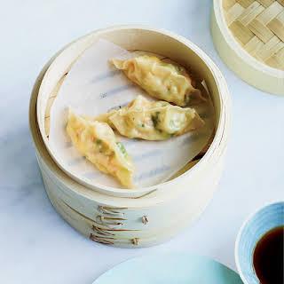 Corn-Shrimp Dumplings.