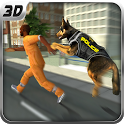 US Police Dog -K9: Airport Crime Shooting Game icon