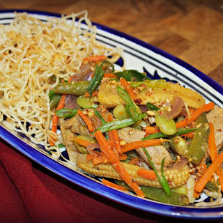 Pork & Vegetable Thai-Style Stir-Fry