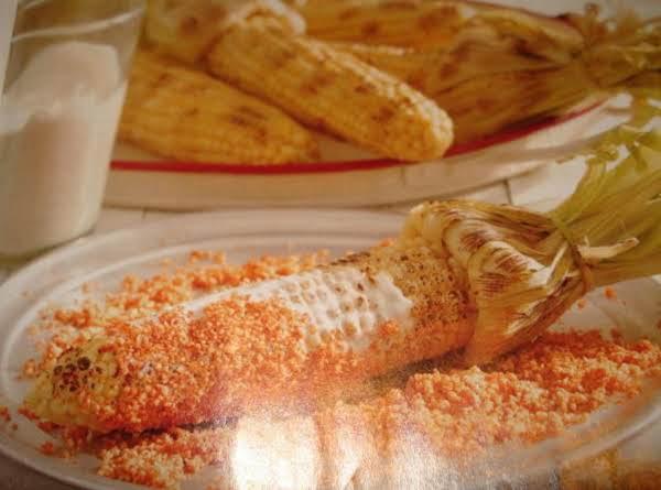 Roasted Corn Mexican Style (maiz Asado)